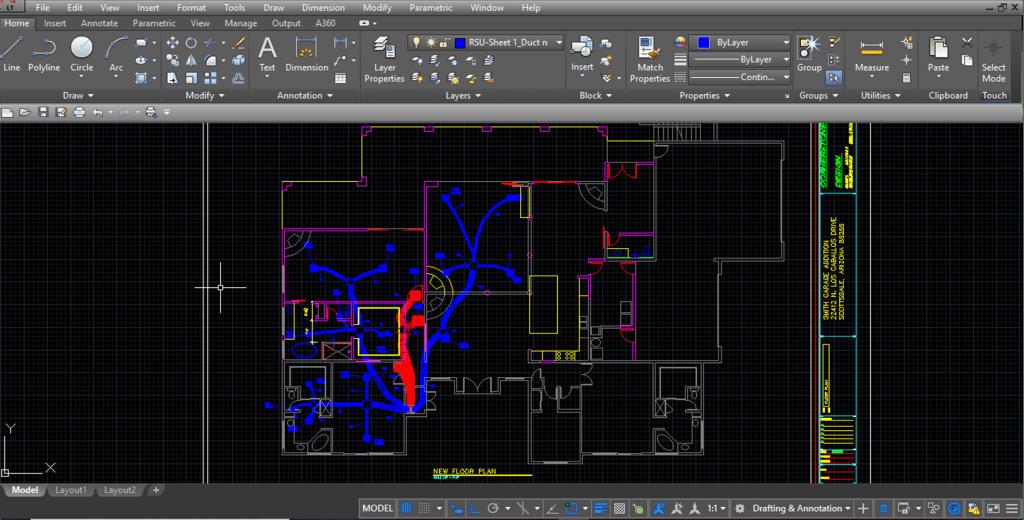 CAD Manual D CAD Duct Design Service 3D